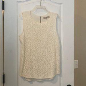 Loft lace sleeveless top